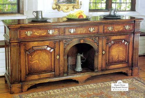 Arabesque, Manor House Dog Kennel Dresser