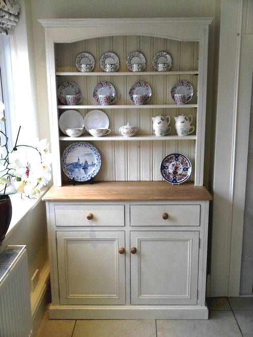 Custom made kitchen dresser